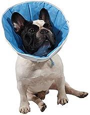 Postoperative Halskrause für Hunde und Katzen, zur Begünstigung der Wundvernarbung