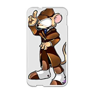 The Great Mouse Detective for HTC One M7 Cell Phone Case & Custom Phone Case Cover R46A652069