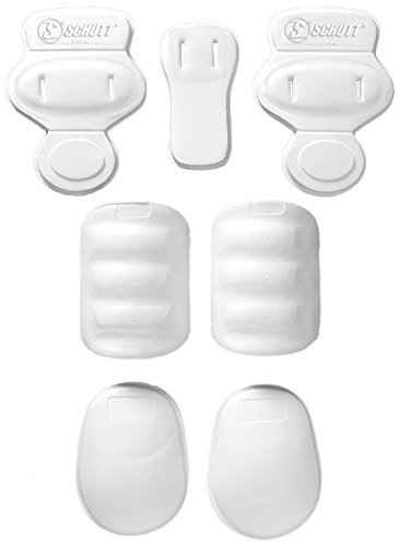Schutt Youth Slotted 7-Piece Pad Set (7 Piece Pad)