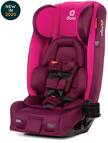 Diono Radian 3RXT Latch All-in-One Convertible Car Seat, Purple Plum