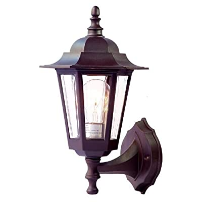 Acclaim 31ABZ Tidewater Collection 1-Light Wall Mount Outdoor Light Fixture, Architectural Bronze
