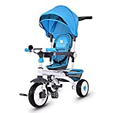 Best Baby Bike Strollers - Costzon 4 in 1 Kids Tricycle Steer Stroller Review