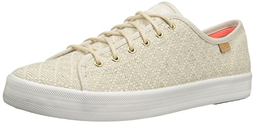 rt Geo Canvas Fashion Sneaker, Natural, 9 M US (Keds Lace Shoes)
