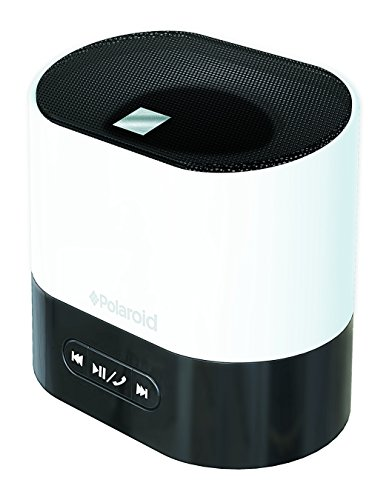 POLAROID Universal Bluetooth Wireless Mini Speaker with Mic, Compatible with All Devices - Wireless Polaroid Speaker Mini