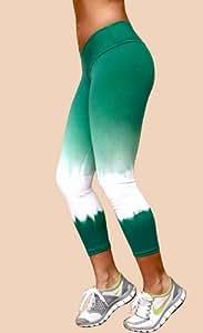 Tie Die Fitness Capri Pant from Fitness etc Activewear
