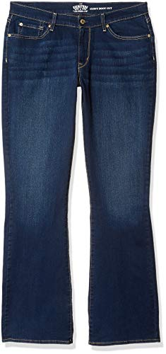 Signature by Levi Strauss & Co. Gold Label Women's Curvy Bootcut Jeans, Rev Up Up, 8 ()