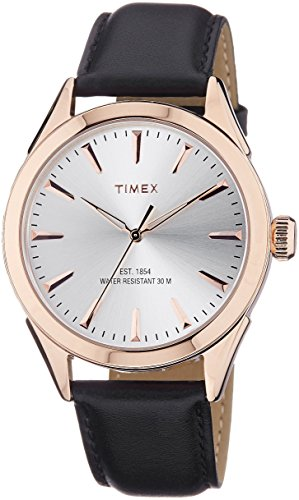 Timex-Mens-Analog-Dial-Watch-Silver