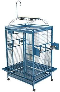 A E Cage 8004836 Platinum Play Top Bird Cage with 1 Bar Spacing, 48 x 36