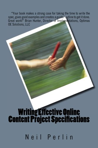 Writing Effective Online Content Project (Technical Specifications)