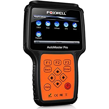 FOXWELL NT624 PRO Professional Automotive Obd2 Scanner Obdii Code Reader Car All-Systems Diagnostic Scan Tool with ABS/Oil Light Reset and EPB Service Functions CAN OBD II EOBD Scanners