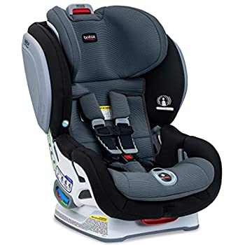 Britax Advocate ClickTight Convertible Car Seat - 3 Layer Impact Protection - Rear and Forward Facing - 5 to 65 Pounds, SafeWash Fabric, Otto Baby
