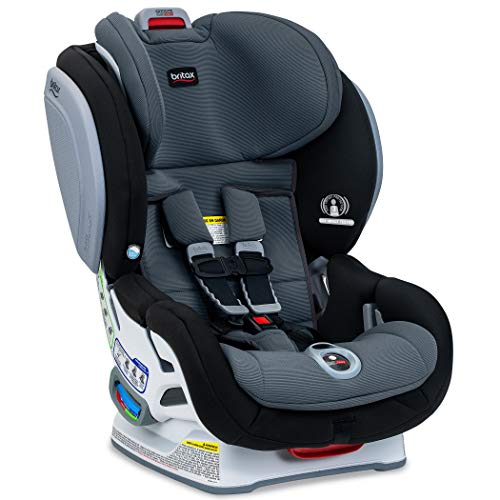 Britax Advocate ClickTight Convertible Car Seat - 3 Layer Impact Protection - Rear and Forward Facing - 5 to 65 Pounds, SafeWash Fabric, Otto