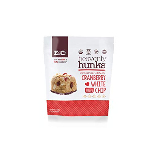 Cranberry White Chocolate - Heavenly Hunks (Cranberry White Chip, 1 6oz bag)