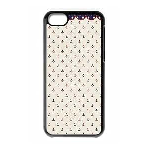 Anchor iPhone 5c Cell Phone Case Black Q6969535