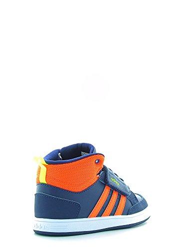 adidas NEO B74662 Hoops Cmf Mid Inf - Zapatos primeros pasos de Material Sintético para niño Blau Kombi