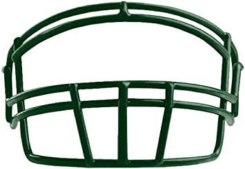 6434375b4790 Image Unavailable. Image not available for. Colour  Rawlings Momentum Youth  football face mask with hardware Dark Green SO2RJR