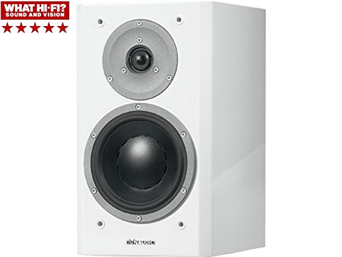 Dynaudio Focus 160 Bookshelf Speakers, Pair (High Gloss White)