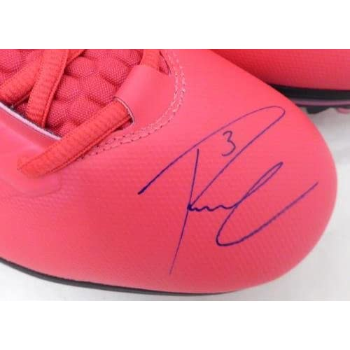 367338f2711 Russell Wilson Autographed Signed Pink Nike Cleats Shoes Seahawks RW Holo  42197 - Autographed NFL Cleats