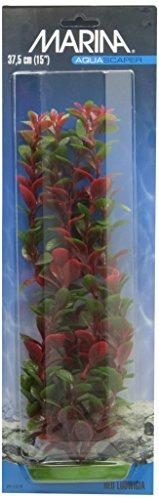 (Marina Aquascaper Ludwigia Plant, 15-Inch, Red)