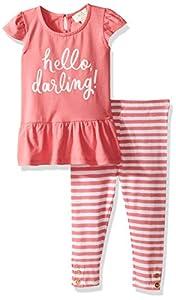 kate spade york Baby Girls' Hello Darling Legging Set