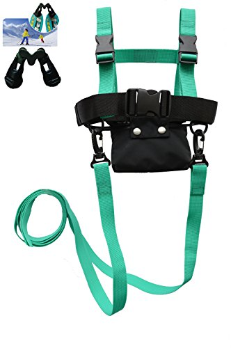 Kids Ski Harness With Long Ski Leash & Super Ski Wedge by Skiweb