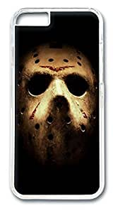 Friday the 13th mask Custom iphone 6 plus 5.5inch Case Cover Polycarbonate Transparent by Maris's Diaryby Maris's Diary