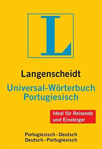 Langenscheidt Universal-Wörterbuch Portugiesisch: Portugiesisch-Deutsch/Deutsch-Portugiesisch (Langenscheidt Universal-Wörterbücher)