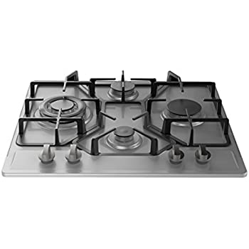 Empava 24 Stainless 4 Italy Sabaf Burners Stove Top Gas Cooktop EMPV 24GC4B67A