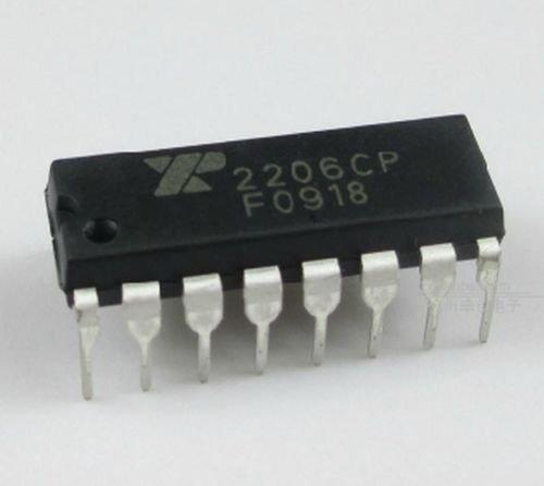 2Pcs XR-2206 XR2206CP XR2206 Monolithic Generator DIP IC new
