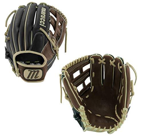 "Marucci MFGHG1150H Honor The Game Series Baseball Fielding Gloves, Black/Gumbo, 11.5"""