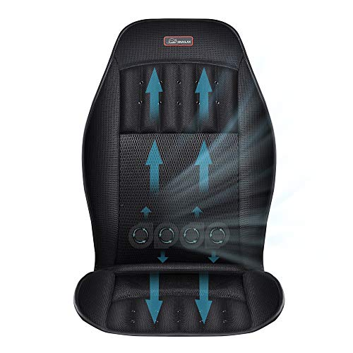 SNAILAX Car Seat Cooler and Heater - Car Seat Cooling Pad or Heating Pad, Seat Cushion with 3 Cool Settings & 2 Heat Levels, Cooling Car Seat Cover for Cars or Office Chair SL-27A8