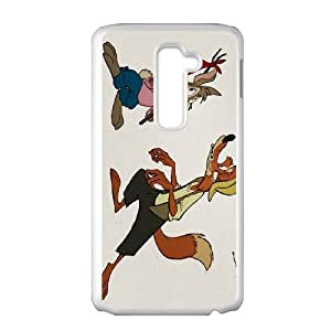 LG G2 Cell Phone Case White Disney Song of the South Character Br'er Fox Phone cover T7404885
