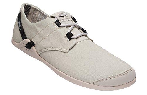 Xero Shoes Lena - Scarpa Casual In Tela A Piedi Nudi - Leggera, A Goccia Zero - Donna Stone / Nera