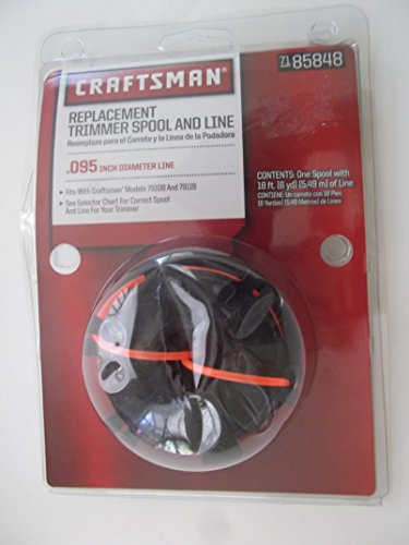 Craftsman Spool - Craftsman Replacement Trimmer Spool & Line
