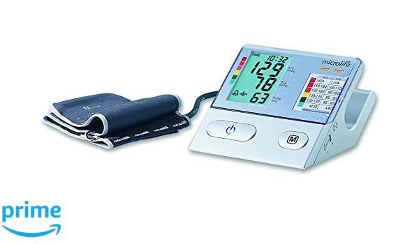 Microlife BP A100 Plus - Tensiómetro de brazo eléctrico, color blanco: Amazon.es: Salud y cuidado personal