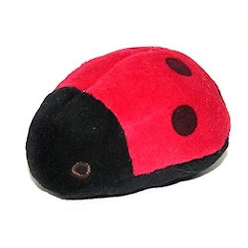 Fluff & Tuff Mini Ladybug Dog Toy