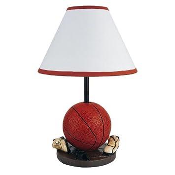 Superb ORE International 31604BA 15H Basketball Table Lamp