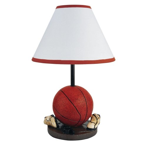 Basketball Lamp - ORE International 31604BA 15H Basketball Table Lamp
