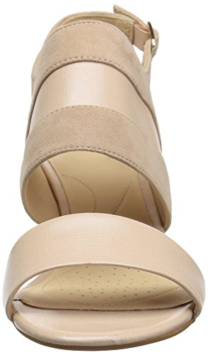Combi Women's Pump Suede Cream CLARKS US 10 Medium Laureti Joy n1fX7x