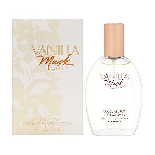 (Coty Vanilla Musk For Women. Cologne Spray 1.7)