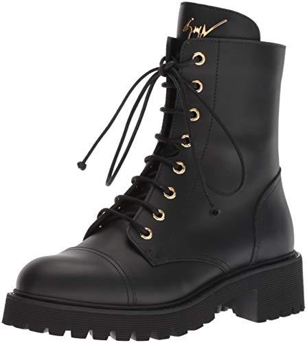 Giuseppe Boot Nero Combat I870055 Zanotti Women's UrqUS