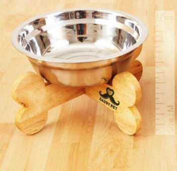 Daddy bowl Tripod shape bone size M (high 17cm.)