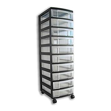 Rollcontainer Rollwagen Schubladenschrank Büroschrank Mit 10