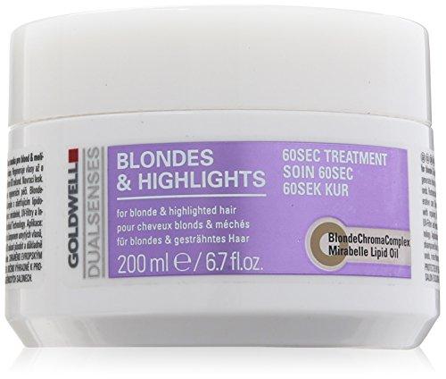 Goldwell Dualsenses Blondes und Highlights 60 Sec Treatment, 1er Pack (1 x 200 ml)