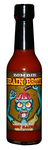 Hot Zombies (Zombie Brain Broth Hot Sauce)