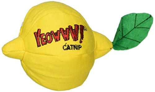 Yeowww! 100% Organic Catnip Toy, Sour Puss! Lemon