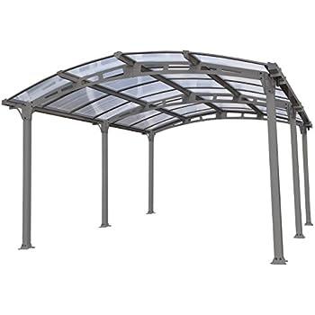 palram arcadia 5000 carport patio cover 16 x 12 x 8