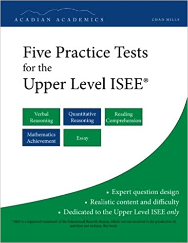 image about Free Isee Practice Test Printable named 5 Teach Checks for the Higher Issue ISEE: Chad Mills