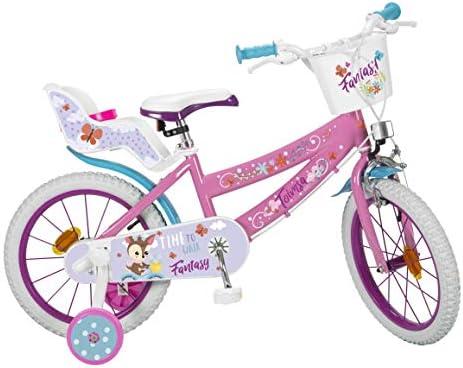 Toimsa 16227 - Bicicleta de 16 Pulgadas, Modelo Fantasy Walk 5-8 ...