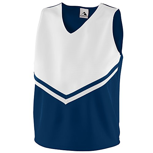 - Augusta Sportswear Girls' Pride Shell XS Navy/White/White